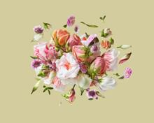 Flowers Mix Congratulation Card.