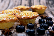 Homemade Blueberry Mince Pie
