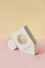 Geometric Papercraft Figures Balanced.