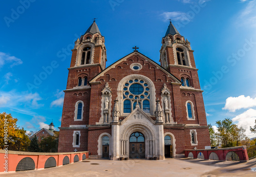 Fototapeta Holy Hill - Basilica and National Shrine of Mary Help of Christians in Wisconsin