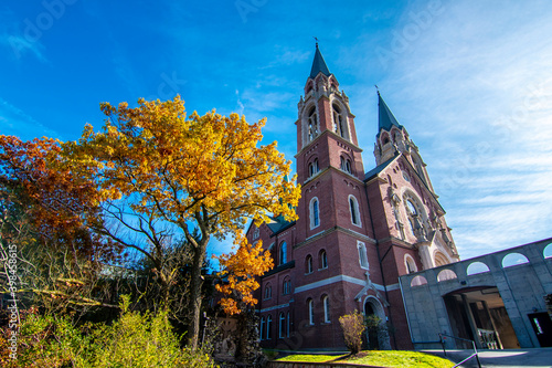 Obraz na plátne Holy Hill - Basilica and National Shrine of Mary Help of Christians in Wisconsin