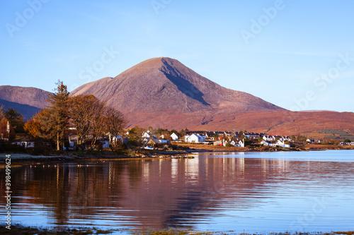 Obraz na plátně Broadford Isle of Skye Scottish Highland and Island