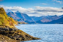 Shore Of Loch Duich Scottish Highlands And Islands