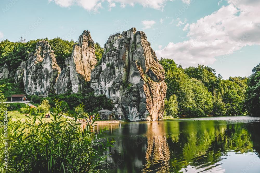Fototapeta Mountains in Europe Landscape