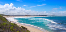 View To The Indian Ocean From An Outlook At The Four Mile Beach In The Fitzgerald River National Park West Of Hopetoun, Western Australia
