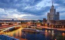 Kotelnicheskaya Embankment Building In Moscow City
