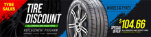 Tire Car Advertisement Poster. Landscape Poster, Digital Banner, Flyer, Booklet, Brochure And Web Design. Black Rubber Tire. Realistic Vector Shining Disk Car Wheel Tyre. Information. Store. Action.