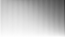 Abstract Black Vertical Striped Background . Vector
