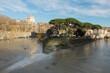 Fiume Tevere in piena a Roma