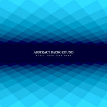 Checkered Abstract Background Blue Tones