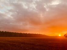 Sunset Over Norfolk
