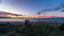 Whidbey Island Sunset Over Admiralty Inlet
