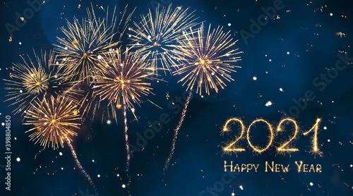 Canvas Print Happy New Year 2021