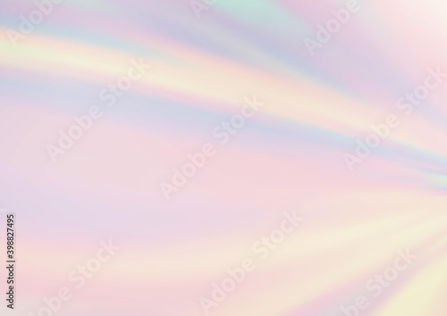 Tablou Canvas Light Silver, Gray vector bokeh and colorful pattern