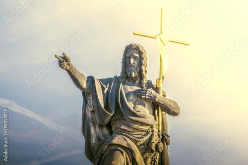 Sculpture of St Fototapete