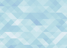 ランダム配色の三角形背景 水色