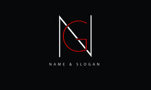 NG, GN, N, G Abstract Letters Logo Monogram