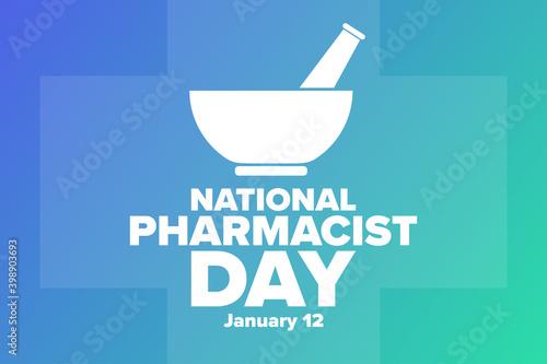 Vászonkép National Pharmacist Day