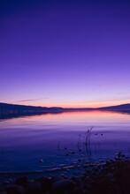 Sonnenuntergang Am Bodensee (Insel Reichenau)