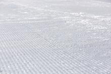 Pista Da Sci Battuta Gatto Delle Nevi Sciare