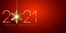 Elegant Happy New Year Banner Design