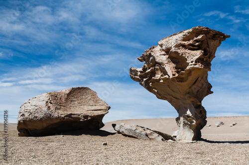 Slika na platnu Arbol de Piedra (Stone Tree) in Siloli desert, South Altiplano, Bolivia
