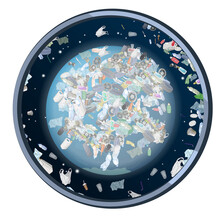 The Problem Of Pollution Of The Planet. Space Debris.