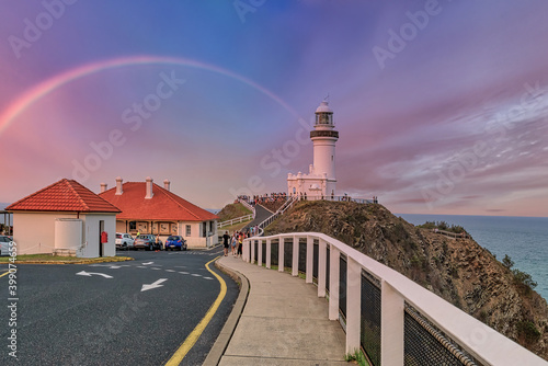 Fotografia The Lighthouse at Byron Bay, New South Wales, Australia
