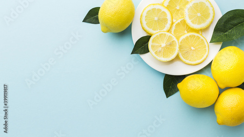 lemon and lime Fototapet