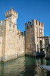 sirmione castle on lake garda view of the walls