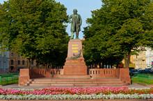 St. Petersburg - Monument To The Composer Mikhail Ivanovich Glinka.