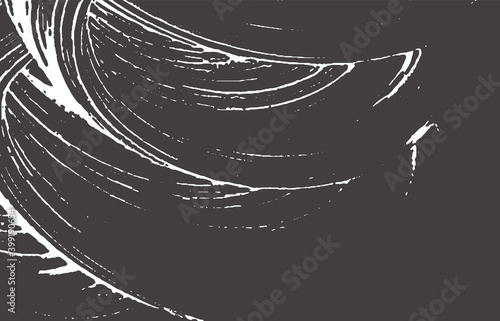 Grunge texture. Distress black grey rough trace. A Wallpaper Mural