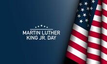 Martin Luther King Jr. Day Background. Vector Illustration.