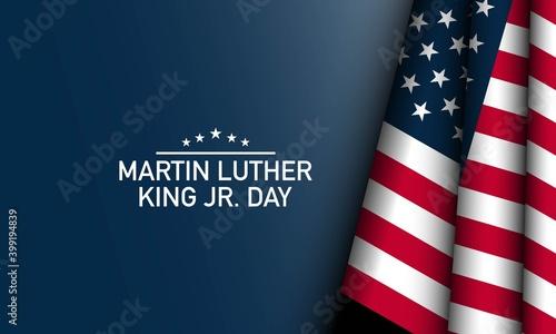 Martin Luther King Jr. Day Background. Vector Illustration. Tapéta, Fotótapéta