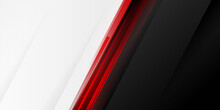 Black Red And White Abstract Contrast Background. Black Red White Business Corporate Background Design With Contrast Style. Template Corporate Concept Red Black Grey And White Contrast Background.