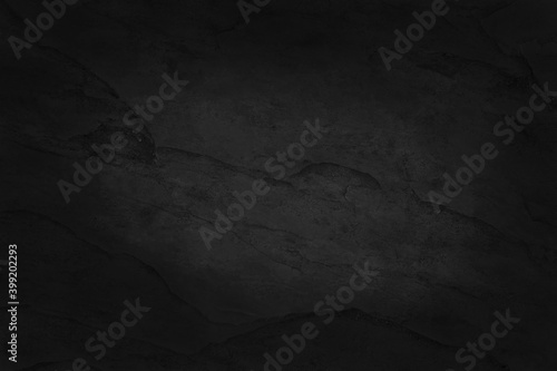 Fototapeta Dark grey black slate texture with high resolution, background of natural black stone wall. obraz