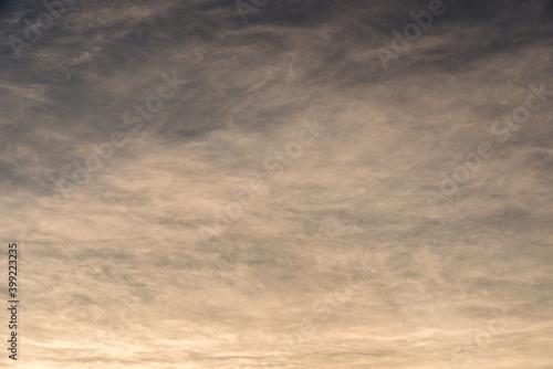 Fototapeta 夕方の雲 obraz