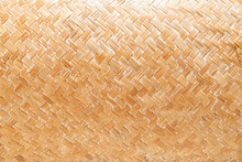 Close-up Woven Basket Texture