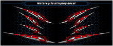 Motorcycle Decal Striping