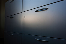 Filing Cabinet With Handle.