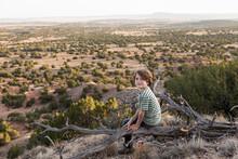 Young Boy, Galisteo Basin