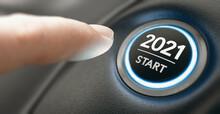 New Year 2021 Start