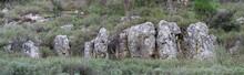 Limestone Rock Formations In Israel