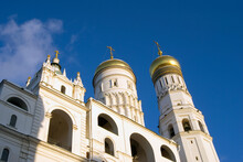 Ivan Great Bell Tower Of Moscow Kremlin