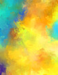 Artistic vibrant and colorful wallpaper.Brushed Painted Abstract Background. Brush stroked painting.