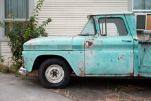 Baby Blue Patina Dream Truck