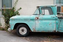 Baby Blue Patina Dream Truck