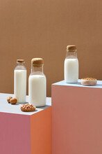 Three Milk Jars And Nuts