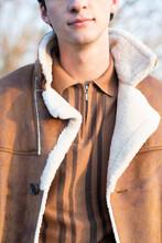 Close Up Men's Fashion Overcoat