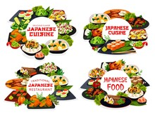 Japanese Cuisine Sushi, Rice And Noodle Dishes